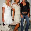 Stock Photo: Nicky Hilton with Paris Hilton and Caroline D'Amore