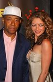 Russell Simmons and Rebecca Gayheart — Foto Stock