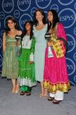 Awista Ayub, Roia Noor Ahmad, Ashley Judd, Shamila Kohestani — Stock Photo