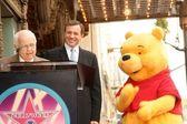 Winnie The Pooh Walk of Fame Ceremony — Foto de Stock
