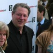 Al Gore and family — Stock Photo