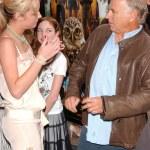 Brie Larson and Jimmy Buffett — Stock Photo #16413767