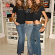 Adriana Lima with Alessandra Ambrosio and Izabel Goulart at the launch of the What is Sexy list by Victorias Secret. Victorias Secret, Los Angeles, Ca. 04-25-06 - Stock Photo