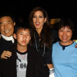 Stock Photo: Shen Hsu and family with Kerri Kasem