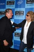 Al Gore, Jon Bon Jovi — Stock Photo