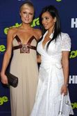 Paris hilton e kimberly kardashian — Foto Stock