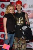 Shanna Moakler and Travis Barker — Stock Photo