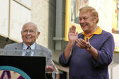 Jerry Buss Hollywood Walk of Fame Ceremony — Stock Photo