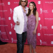 Billy Ray Cyrus and daughter Destiny Cyrus - Zdjęcie stockowe
