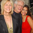 Bruce Davison with Cindy Pickett and Farah White — 图库照片 #16423731
