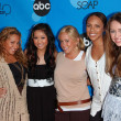 Adrienne Bailon, Brenda Song, Sabrina Bryan, Kiely Williams and Miley Cyrus at the Disney ABC Television Group All Star Party. Kidspace Childrens Museum, Pasadena, CA. 07-19-06 - Zdjcie stockowe