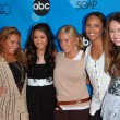 Adrienne Bailon, Brenda Song, Sabrina Bryan, Kiely Williams and Miley Cyrus at the Disney ABC Television Group All Star Party. Kidspace Childrens Museum, Pasadena, CA. 07-19-06 — Stock Photo