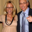 Sam Phillips and Dr. Drew Pinsky — Stock Photo