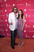Billy Ray Cyrus and daughter Destiny Cyrus — Stock Photo