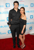 Brandon Routh and Courtney Ford — Stock Photo