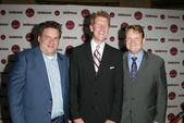 Jeff Garlin with Tony Uphoff and Andy Richter — Stock Photo