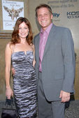 Laura Leighton and Doug Savant — Stock Photo