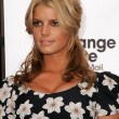 "Jessica Simpson and Blockbuster Announce ""Total Access"" — Stock Photo"