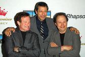 Robin Williams with Jeff Goldblum and Billy Crystal — Stok fotoğraf