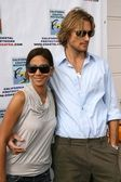Halle Berry and Gabriel Aubry — Stock Photo
