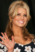 "Jessica Simpson and Blockbuster Announce ""Total Access"" — 图库照片"