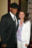 Ken Norton Jr and wife Angela — Stock Photo
