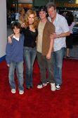 Tracy E. Bregman and family — Stock Photo
