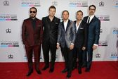 Backstreet Boys at the 40th American Music Awards Arrivals, Nokia Theatre, Los Angeles, CA 11-18-12 — Stock Photo