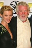 Amy Smart, Nick Nolte — Stock Photo