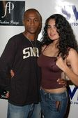 Tommy Davidson and Veronica Loren — Stock Photo