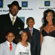 Stock Photo: Jimmy Jam and Family