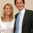 Vanna White and Fiance Michael Kaye — Foto de Stock