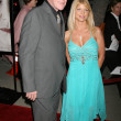 Gary Busey and Donna D'Errico - Stock Photo
