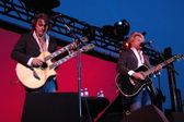Richie Sambora and Jon Bon Jovi — Stock Photo