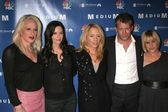 Alexis Arquette, Courteney Cox, Rosanna Arquette, Thomas Jane and Patricia Arquette at the NBC fall party for the hit drama Medium. Stephen Cohen Gallery, Beverly Hills, CA. 10-26-06 — Stock Photo