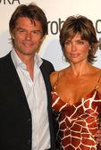 Harry Hamlin and Lisa Rinna — Stock Photo