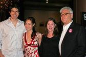 Brandon Routh, Courtney Ford, Lauren Shuler Donner, Richard Donner — Photo