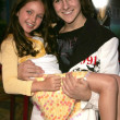 Ryan Newman and Mitchel Musso — Stock Photo