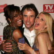 Stock Photo: AishTyler with Kevin Nealon and SusYeagley at TV Guide Emmy After Party. Social, Hollywood, CA. 08-27-06