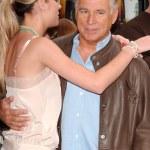 Brie Larson and Jimmy Buffett — Stock Photo #16458271