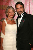 Helen Mirren and Jeremy Irons — Stock Photo