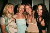 Jennifer Blanc, Gill Hamer, Kym Jackson and Lorna Paul — Stock Photo