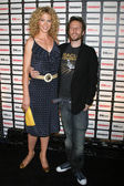 Jenna Elfman and Bodhi Elfman — Stock Photo