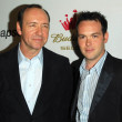 Kevin Spacey and Dana Brunetti at the new Triggerstreet.com Launch Party. Social Hollywood, Hollywood, CA. 06-15-06 - 图库照片