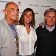 Stock Photo: Robert Shapiro and his wife Linell with Martin Sheen