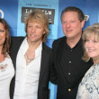 ������, ������: Jon Bon Jovi and wife Dorthea with Al Gore and Tipper Gore
