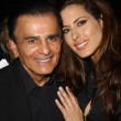 Stock Photo: Casey Kasem and daughter Kerri Kasem