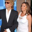 Постер, плакат: Jon Bon Jovi and wife Dorothea