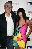 Von Dutch designer Gigi and Bai Ling — Stock Photo