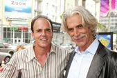 Steve Oedekerk and Sam Elliott — Stock Photo